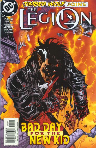 Cover for The Legion (DC, 2001 series) #15