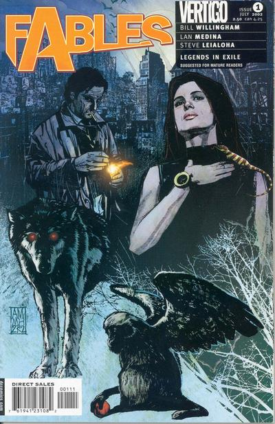 Cover for Fables (DC, 2002 series) #1 [James Jean Cover]