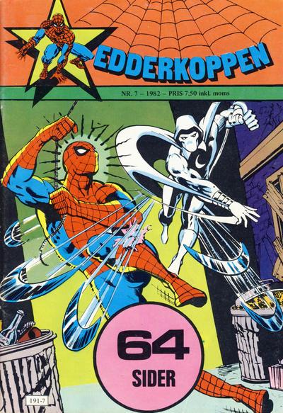 Cover for Edderkoppen (Atlantic Forlag, 1978 series) #7/1982