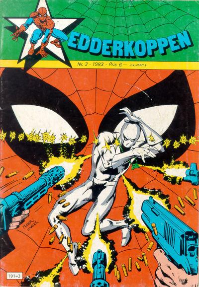 Cover for Edderkoppen (Atlantic Forlag, 1978 series) #3/1983