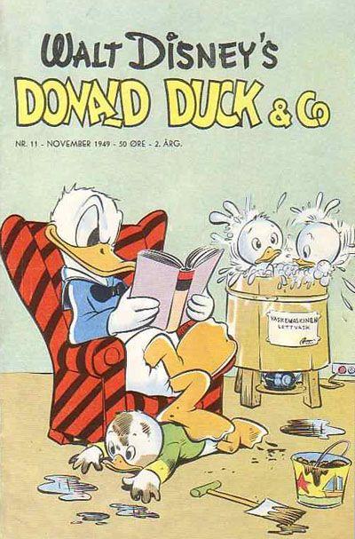 Cover for Donald Duck & Co (Hjemmet / Egmont, 1948 series) #11/1949