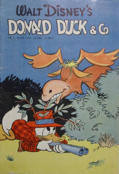 Cover for Donald Duck & Co (Hjemmet / Egmont, 1948 series) #3/1950