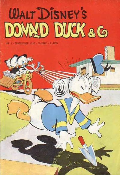 Cover for Donald Duck & Co (Hjemmet / Egmont, 1948 series) #9/1950