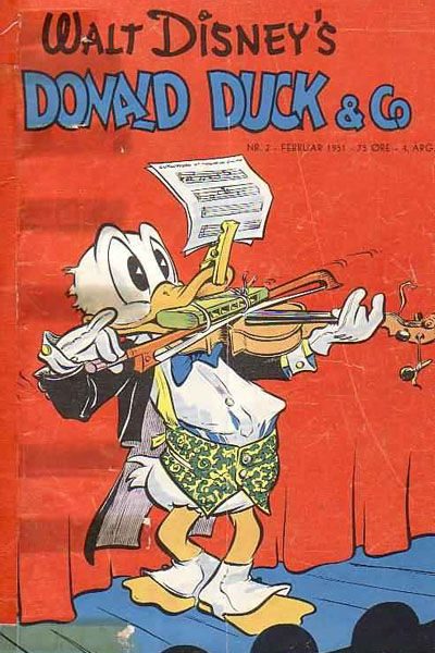 Cover for Donald Duck & Co (Hjemmet / Egmont, 1948 series) #2/1951