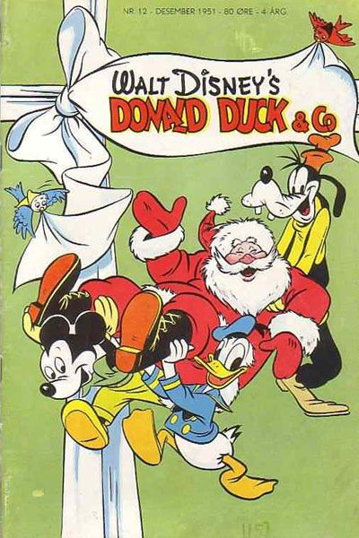 Cover for Donald Duck & Co (Hjemmet / Egmont, 1948 series) #12/1951