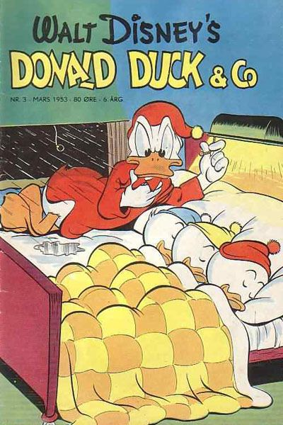 Cover for Donald Duck & Co (Hjemmet / Egmont, 1948 series) #3/1953
