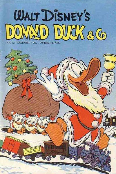 Cover for Donald Duck & Co (Hjemmet / Egmont, 1948 series) #12/1953