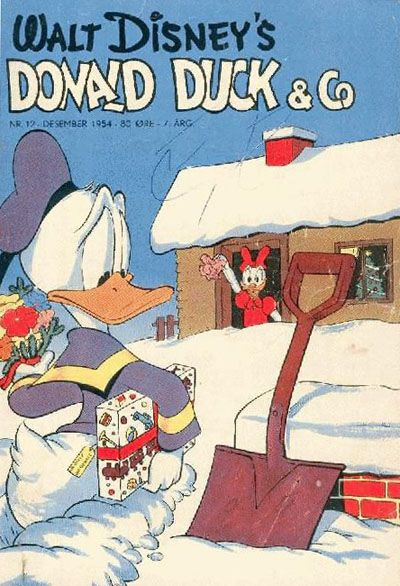 Cover for Donald Duck & Co (Hjemmet / Egmont, 1948 series) #12/1954