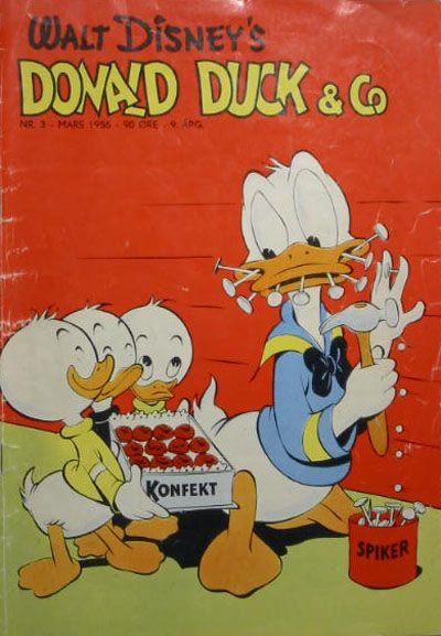 Cover for Donald Duck & Co (Hjemmet / Egmont, 1948 series) #3/1956