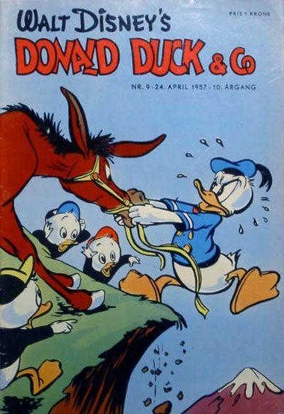 Cover for Donald Duck & Co (Hjemmet / Egmont, 1948 series) #9/1957