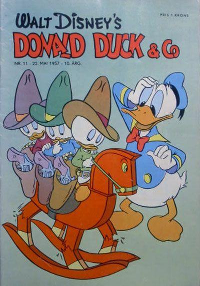 Cover for Donald Duck & Co (Hjemmet / Egmont, 1948 series) #11/1957