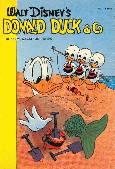 Cover for Donald Duck & Co (Hjemmet / Egmont, 1948 series) #18/1957