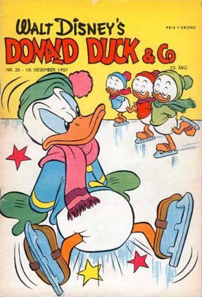 Cover for Donald Duck & Co (Hjemmet / Egmont, 1948 series) #26/1957