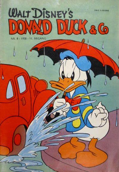 Cover for Donald Duck & Co (Hjemmet / Egmont, 1948 series) #8/1958