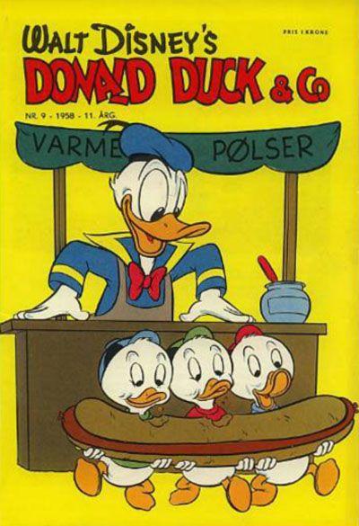 Cover for Donald Duck & Co (Hjemmet / Egmont, 1948 series) #9/1958