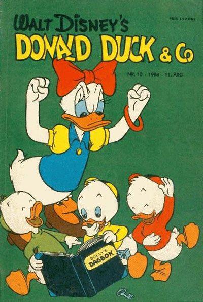 Cover for Donald Duck & Co (Hjemmet / Egmont, 1948 series) #10/1958
