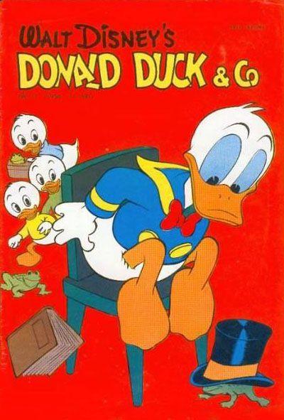 Cover for Donald Duck & Co (Hjemmet / Egmont, 1948 series) #11/1958