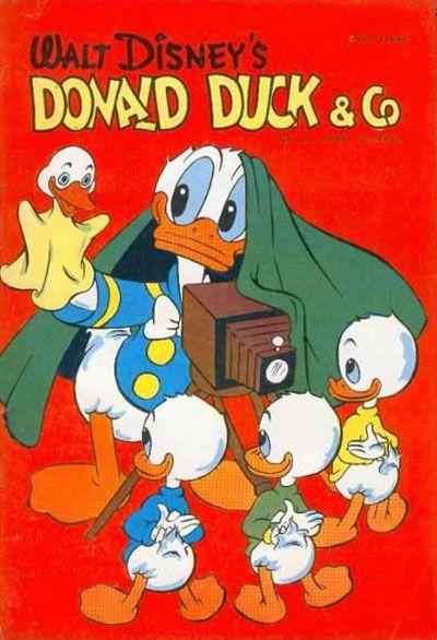 Cover for Donald Duck & Co (Hjemmet / Egmont, 1948 series) #12/1958