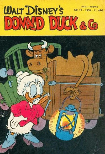Cover for Donald Duck & Co (Hjemmet / Egmont, 1948 series) #19/1958
