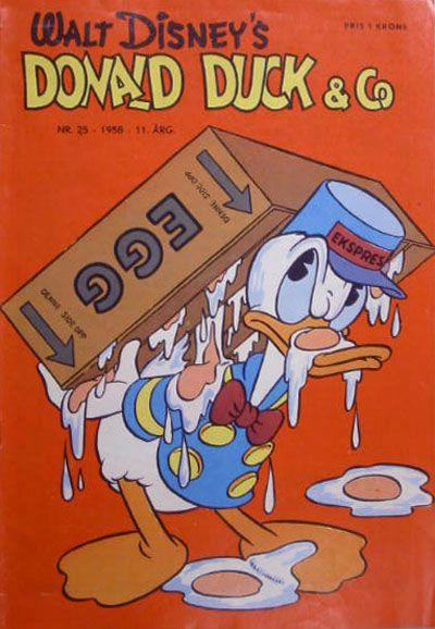 Cover for Donald Duck & Co (Hjemmet / Egmont, 1948 series) #25/1958