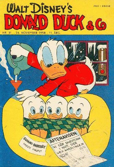 Cover for Donald Duck & Co (Hjemmet / Egmont, 1948 series) #31/1958