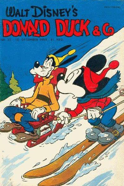 Cover for Donald Duck & Co (Hjemmet / Egmont, 1948 series) #33/1958