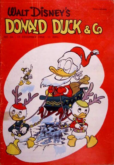 Cover for Donald Duck & Co (Hjemmet / Egmont, 1948 series) #34/1958