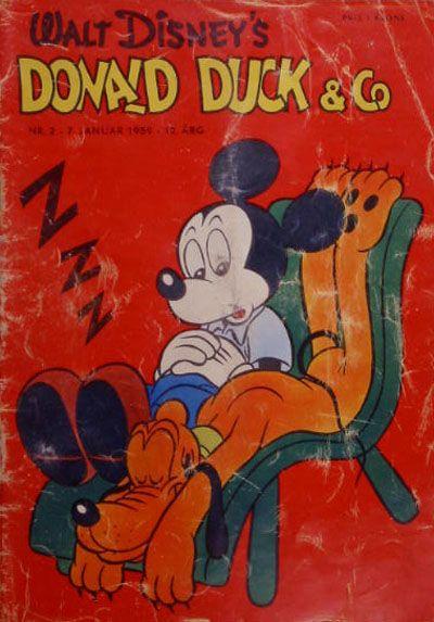 Cover for Donald Duck & Co (Hjemmet / Egmont, 1948 series) #2/1959