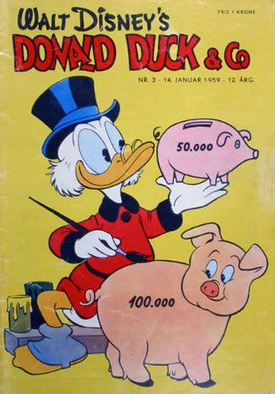 Cover for Donald Duck & Co (Hjemmet / Egmont, 1948 series) #3/1959