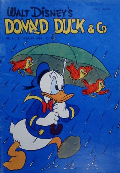 Cover for Donald Duck & Co (Hjemmet / Egmont, 1948 series) #4/1959