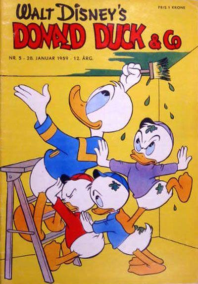 Cover for Donald Duck & Co (Hjemmet / Egmont, 1948 series) #5/1959