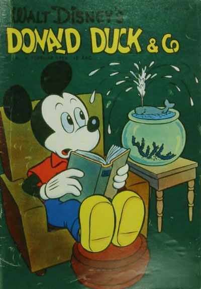 Cover for Donald Duck & Co (Hjemmet / Egmont, 1948 series) #6/1959
