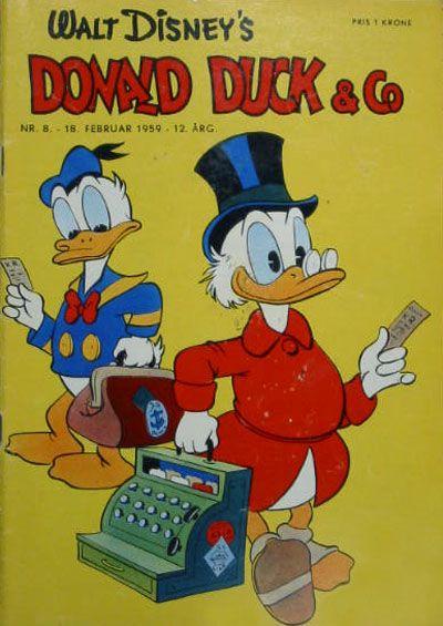 Cover for Donald Duck & Co (Hjemmet / Egmont, 1948 series) #8/1959
