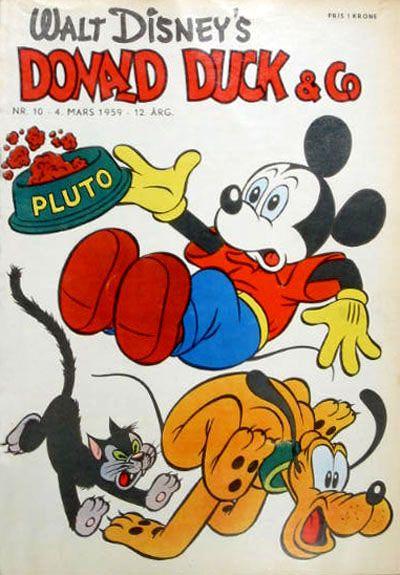 Cover for Donald Duck & Co (Hjemmet / Egmont, 1948 series) #10/1959