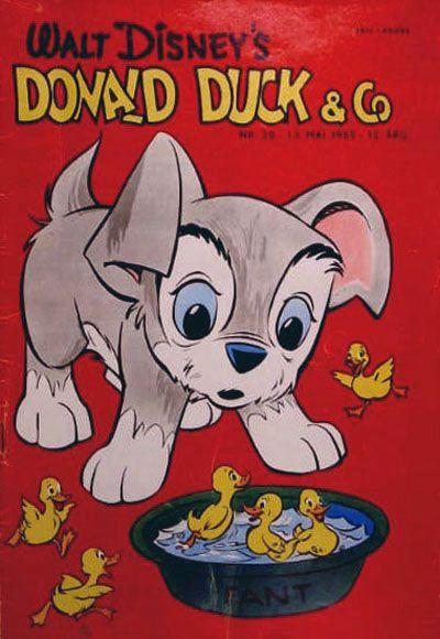 Cover for Donald Duck & Co (Hjemmet / Egmont, 1948 series) #20/1959