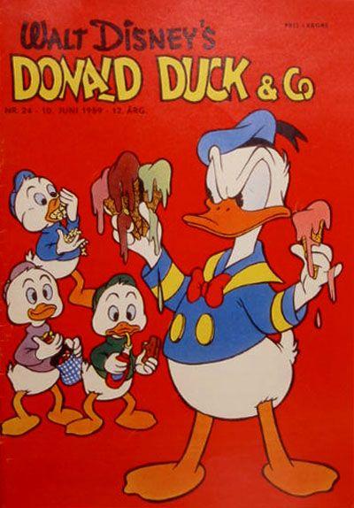 Cover for Donald Duck & Co (Hjemmet / Egmont, 1948 series) #24/1959