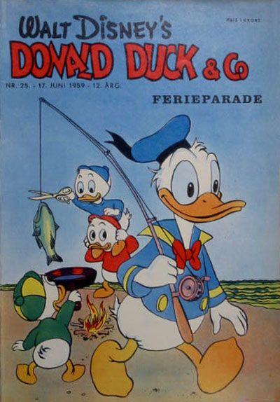 Cover for Donald Duck & Co (Hjemmet / Egmont, 1948 series) #25/1959