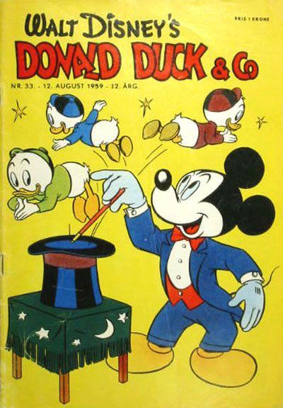 Cover for Donald Duck & Co (Hjemmet / Egmont, 1948 series) #33/1959