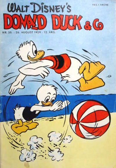 Cover for Donald Duck & Co (Hjemmet / Egmont, 1948 series) #35/1959