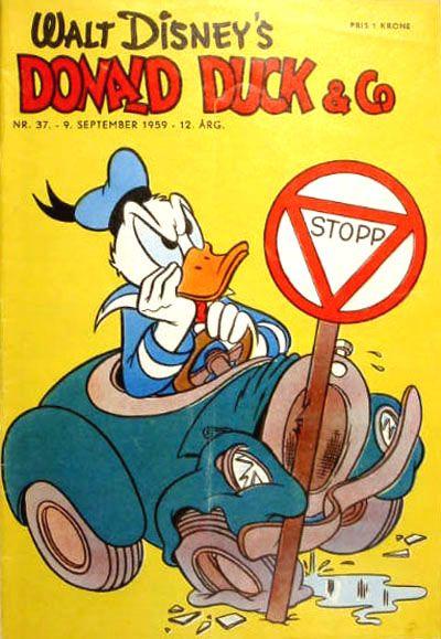 Cover for Donald Duck & Co (Hjemmet / Egmont, 1948 series) #37/1959