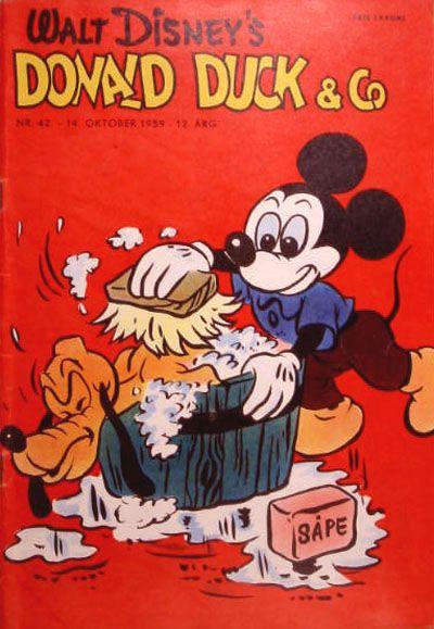 Cover for Donald Duck & Co (Hjemmet / Egmont, 1948 series) #42/1959