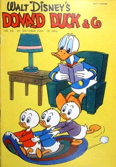 Cover for Donald Duck & Co (Hjemmet / Egmont, 1948 series) #43/1959