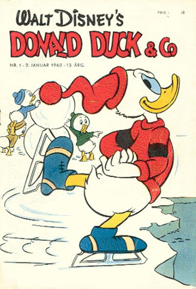 Cover for Donald Duck & Co (Hjemmet / Egmont, 1948 series) #1/1960