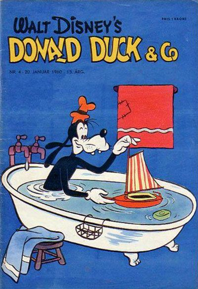 Cover for Donald Duck & Co (Hjemmet / Egmont, 1948 series) #4/1960