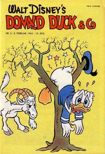 Cover for Donald Duck & Co (Hjemmet / Egmont, 1948 series) #6/1960