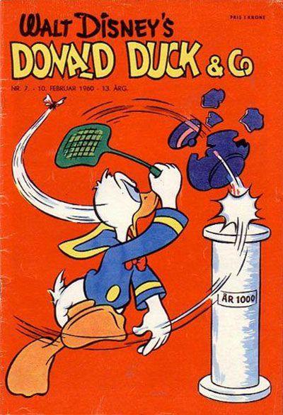 Cover for Donald Duck & Co (Hjemmet / Egmont, 1948 series) #7/1960