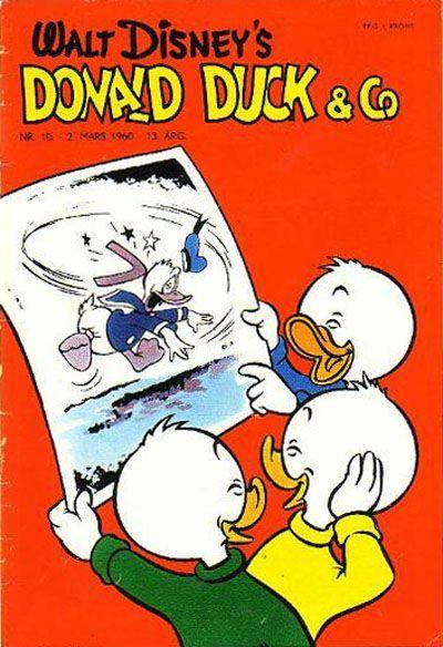 Cover for Donald Duck & Co (Hjemmet / Egmont, 1948 series) #10/1960