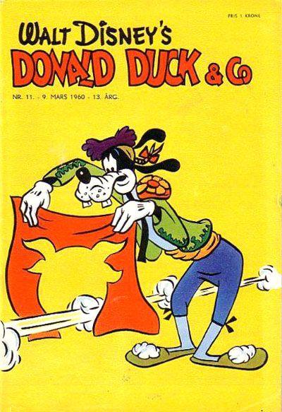 Cover for Donald Duck & Co (Hjemmet / Egmont, 1948 series) #11/1960