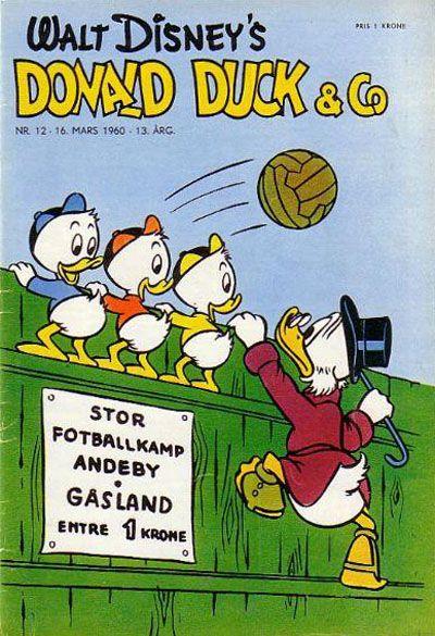 Cover for Donald Duck & Co (Hjemmet / Egmont, 1948 series) #12/1960