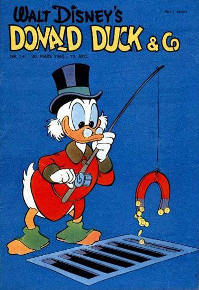 Cover for Donald Duck & Co (Hjemmet / Egmont, 1948 series) #14/1960